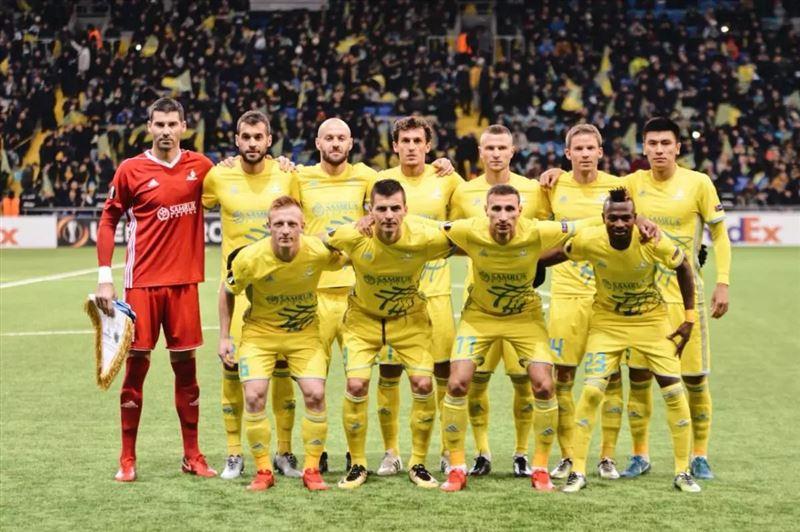 Футболисты «Спортинга» обыграли «Астану» в первом матче 1/16 финала Лиги Европы