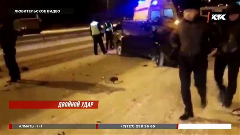В Семее в ДТП погиб водитель – машина врезалась в фуру