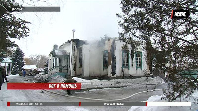 Утвержден эскиз новой церкви взамен сгоревшего в Алматинской области храма
