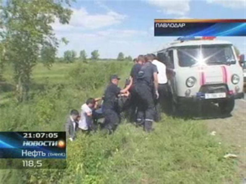 В пригороде Павлодара водитель погиб под колесами собственной машины