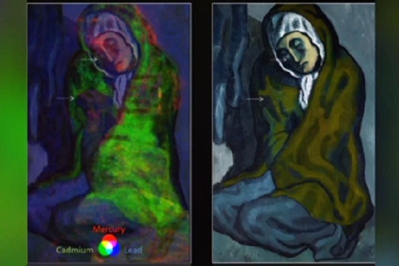 Пабло Пикассоның суретінен жасырын көрініс табылды