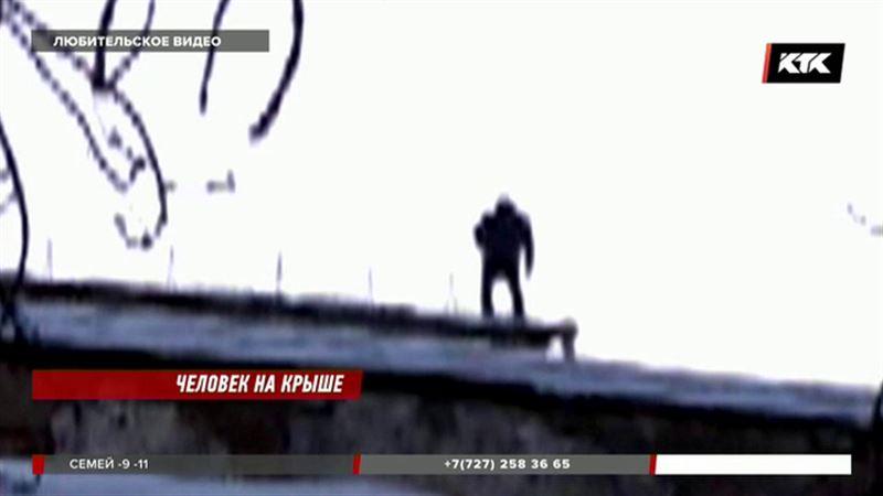 Не прыгать с крыши уговорили петропавловца полицейские