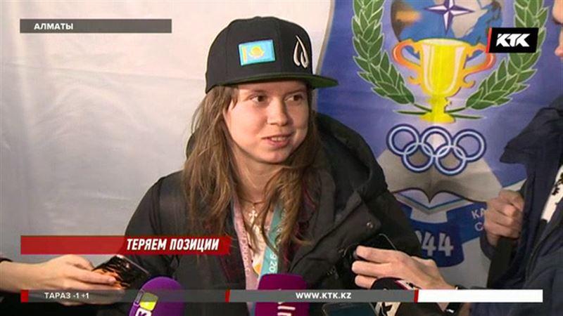 Юлия Галышева вернулась в Казахстан из Пхёнчхана