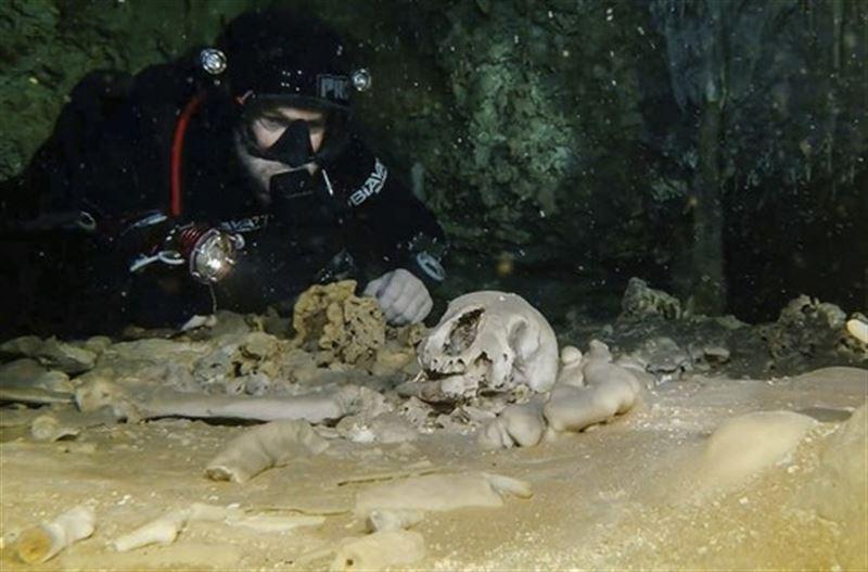 Останки жившего 10 тысяч лет назад человека найдены в Мексике