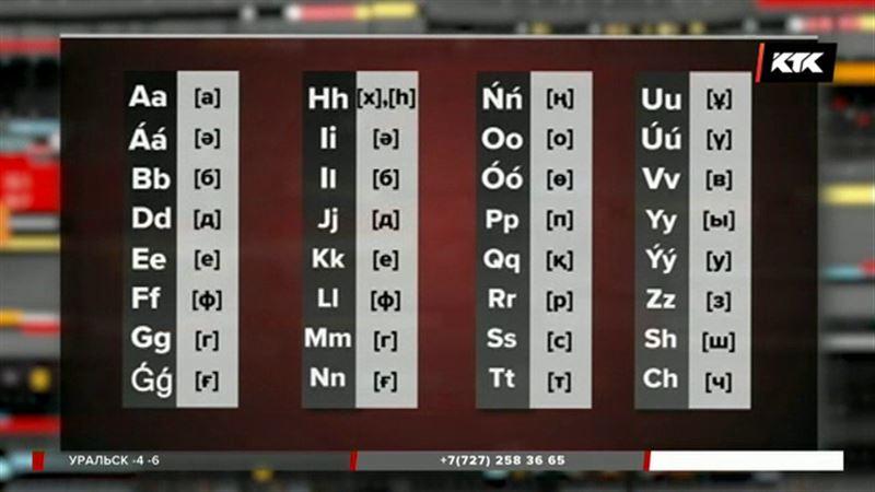 Новый алфавит официально утвердили в Казахстане