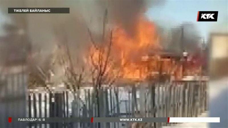 Қарағанды облысында газ баллоны жарылып адамдар зардап шекті