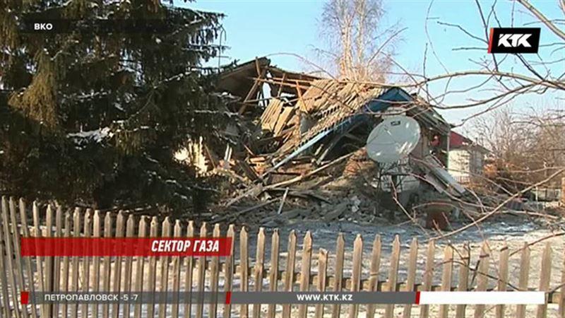 В восточноказахстанском селе взорвался газовый баллон