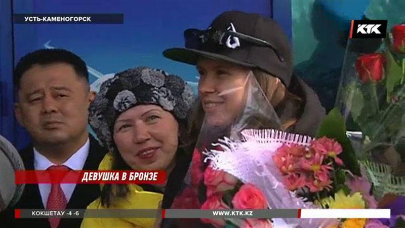 Юлия Галышева  в родном Усть-Каменогорске