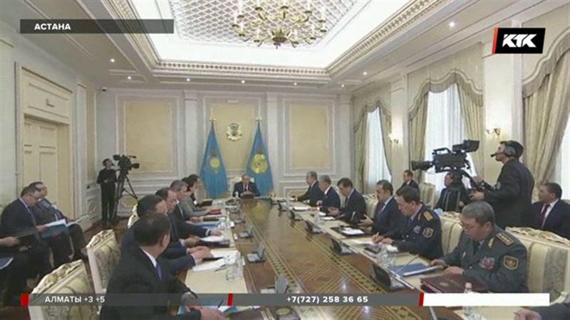 На Совбезе обсудили ситуацию в ЮКО