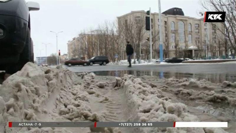 Кызылорда стала похожа на один большой каток