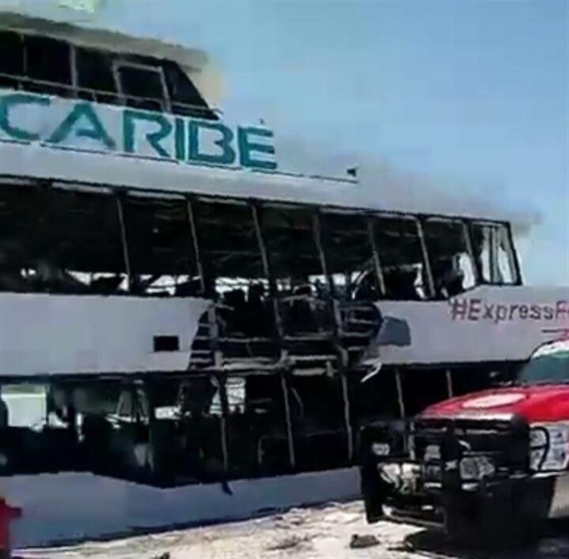 ВИДЕО: В Мексике при взрыве на пароме пострадали 25 человек
