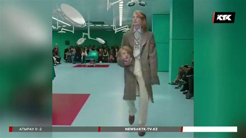 Вместо сумок модницам предлагают носить человеческие головы