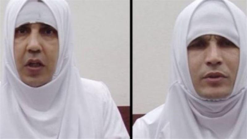 Тәжікстанда хиджабқа оранған екі террорист ұсталды