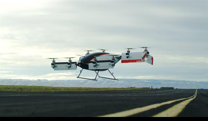 Компания Airbus провела испытания первого летающего такси