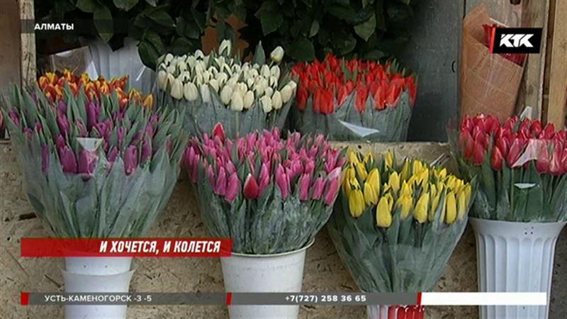 Продавцов цветов 8 марта будут штрафовать