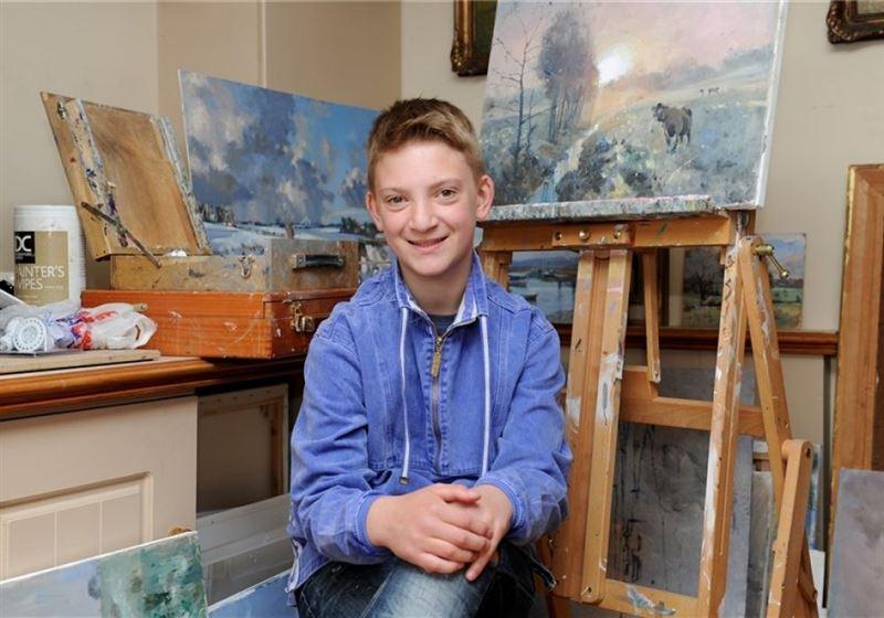 ФОТО: Британдық жасөспірім картиналарынан 2,7 миллион доллар тапты