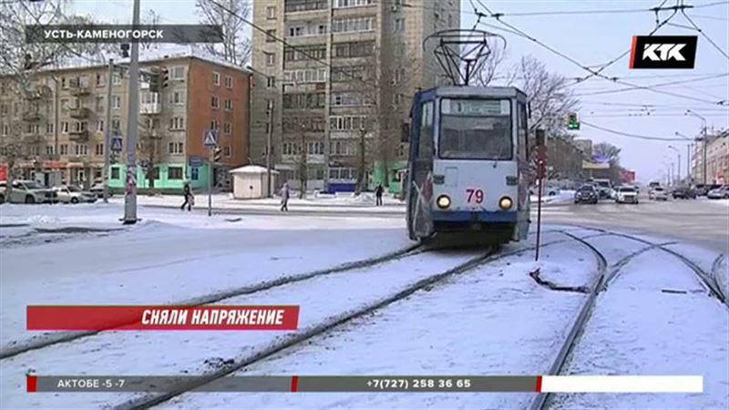 В Усть-Каменогорске могут остановиться трамваи
