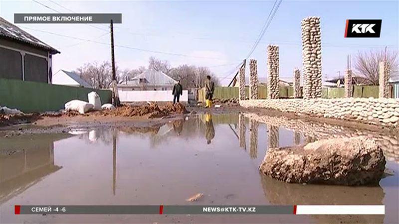 В Алматинской области затопило почти 200 домов