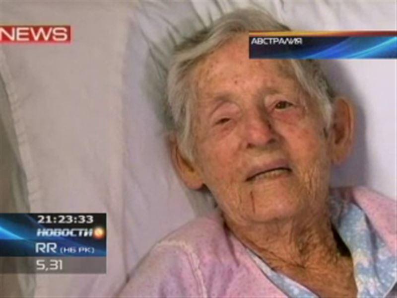 Кенгуру напал на австралийскую пенсионерку