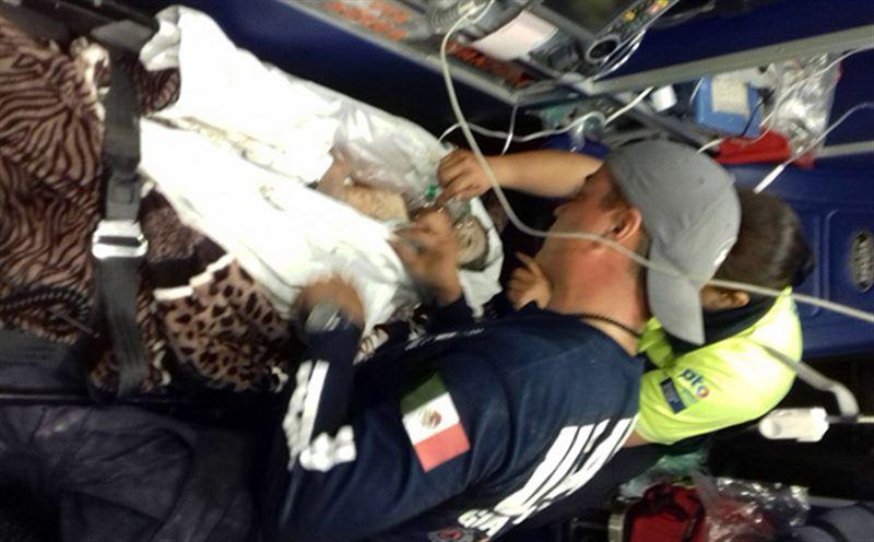Ребенка 10 часов доставали из колодца в Мексике