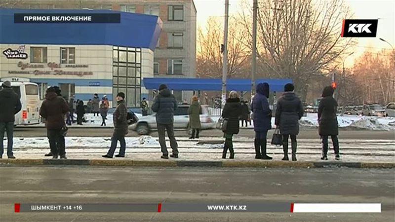 Трамваи в Усть-Каменогорске всё-таки встали