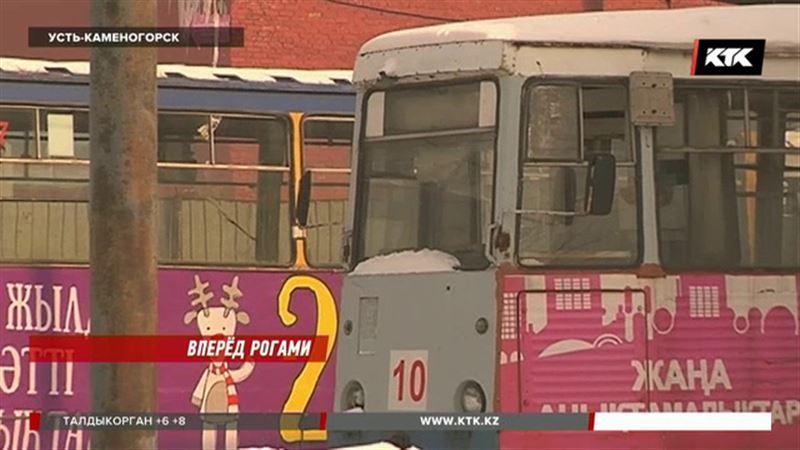В Усть-Каменогорске обесточили трамвайные линии