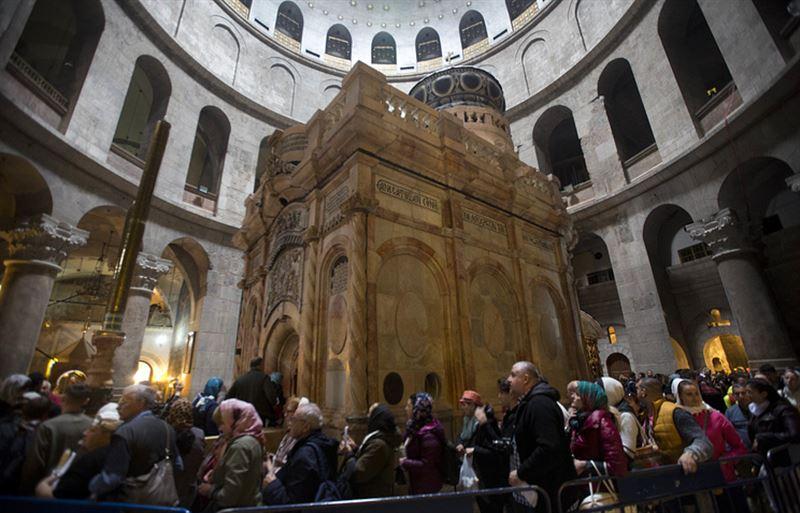 Храм Гроба Господня в Иерусалиме вновь открыт для посещений