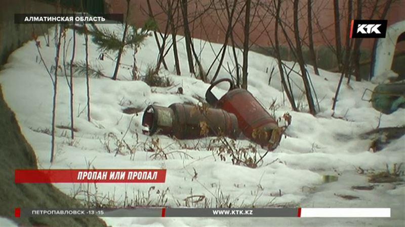 В поселке под Алматы прогремел взрыв газовой смеси