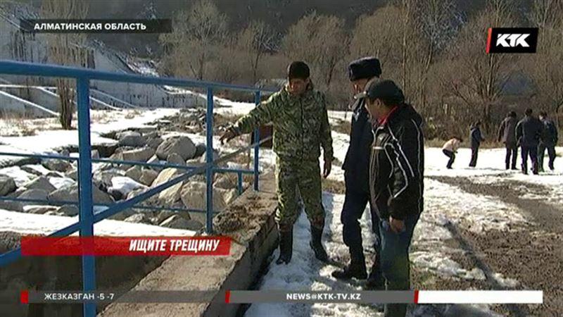 В Алматинской области спешно проверяют плотины