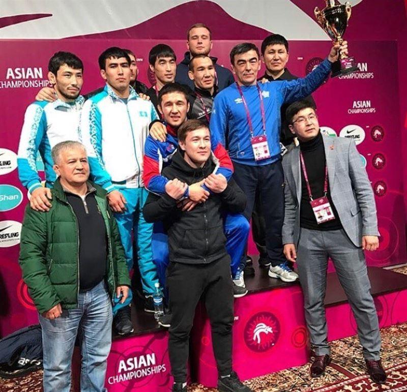 Грек-рим күресінен Азия чемпионатында екі алтынға ие болдық