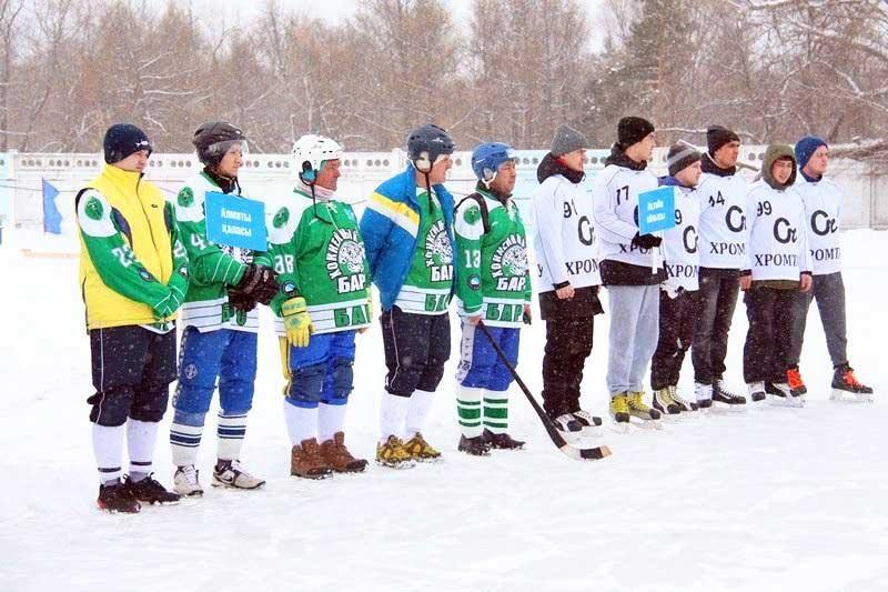 ФОТО: Допты хоккейден ел чемпионаты басталды