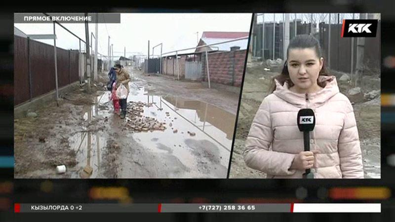 В Алматинской области  жители Туздыбастау возвращаются в свои дома