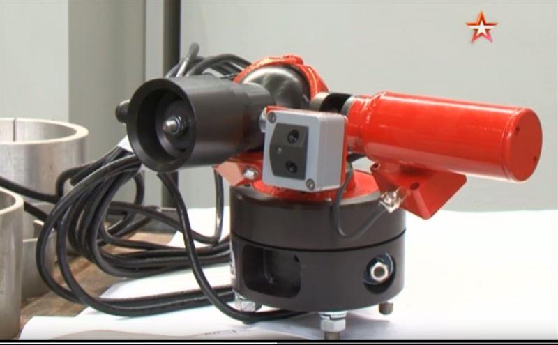 Российские инженеры изобрели пожарных мини-роботов