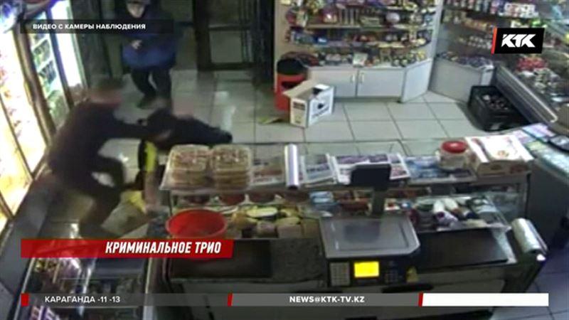 В Костанае разыскивают грабителя продуктового магазина