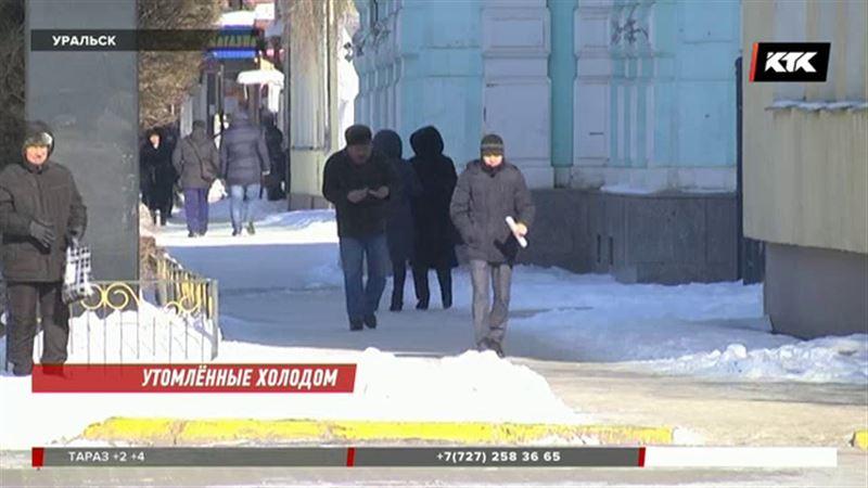 Холодный циклон идёт по Казахстану