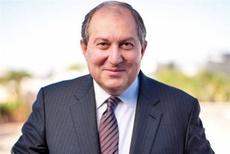 Армен Саргсян Армения президенті болып сайланды