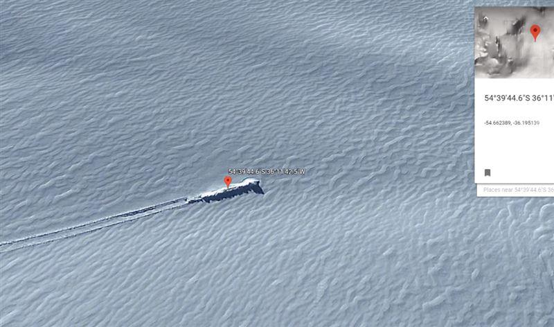 ВИДЕО: В Антарктиде обнаружили объект, похожий на упавший космический корабль