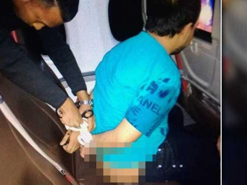 Голого пассажира, смотревшего в самолете порно, задержали в аэропорту