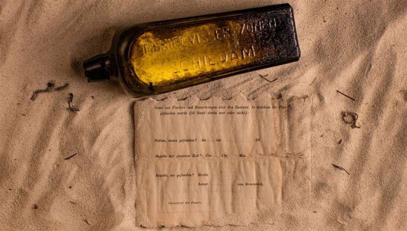 В Австралии нашли старейшее в мире послание в бутылке