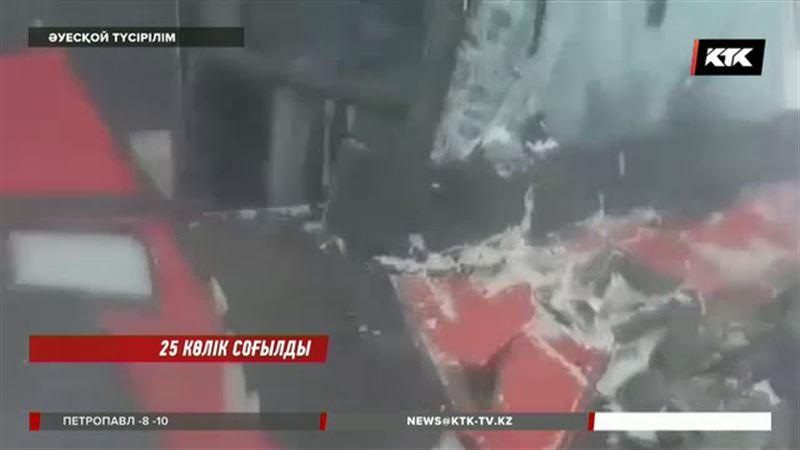 Қарағанды облысында ірі жол апаты болды