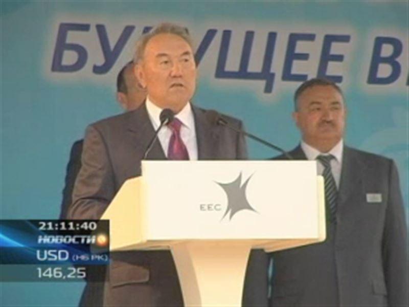 Нурсултан Назарбаев прибыл с рабочим визитом в Павлодарскую область