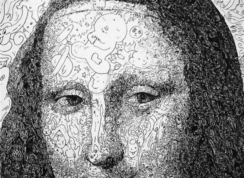 ФОТО: Мона Лиза туындысы ерекше әдіспен қайта салынды
