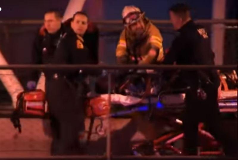 Жертвами крушения вертолета в Нью-Йорке стали пять человек