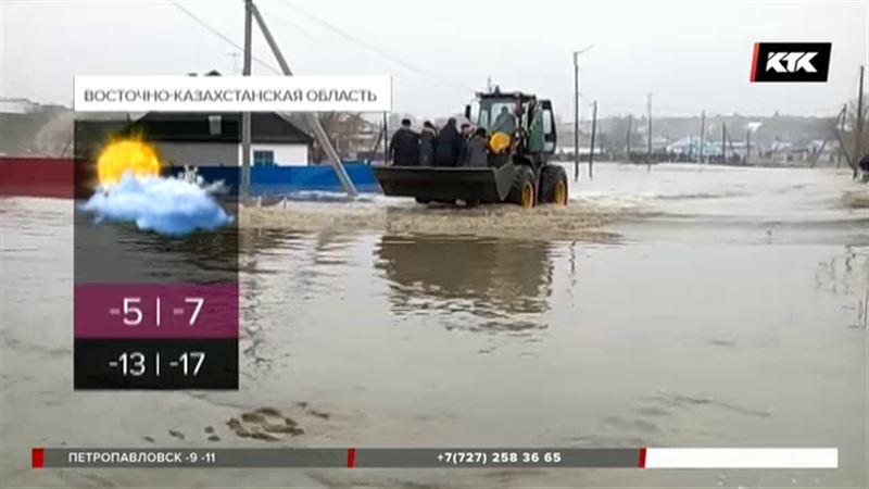 Реки могут выйти из берегов на большей территории страны