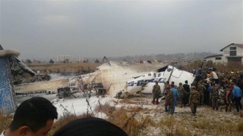 Власти Непала подтвердили гибель 49 человек во время авиакатастрофы