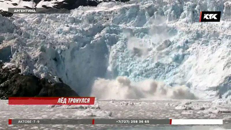 Таяние ледника Перито-Морено усилилось