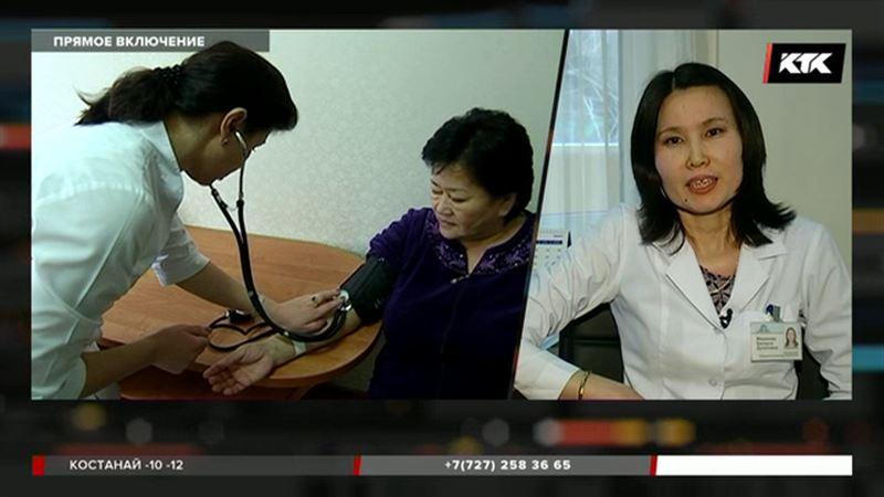Обострение сердечно-сосудистых заболеваний фиксируют у алматинцев