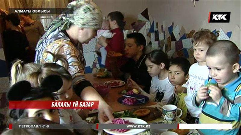 Алматы облысында ерлі-зайыптылар шаңырағын жетімдер үйіне айналдырған