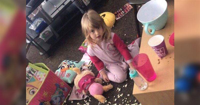 Устав от выходок дочери, мать выставила 3-летнюю девочку на продажу