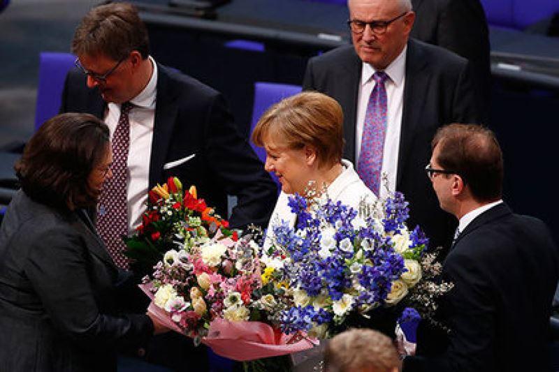 На пост канцлера Германии в четвертый раз избирается Ангела Меркель